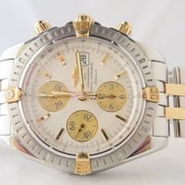 Breitling Chronomat Evolution 18k Gold Steel 44mm