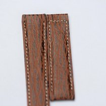 Ebel Leather Watchstrap Length: 19 cm Width: 20/18 mm