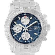 Breitling Colt Automatic Chronograph Blue Dial Watch A13388...