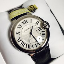 Cartier Ballon Bleu automatic 36mm leather New W69017Z4