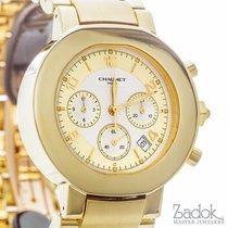 Chaumet 18k Yellow Gold Chronograph Swiss Automatic Watch 40mm...