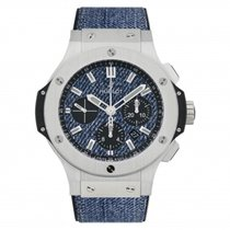 Hublot Big Bang Jeans 44mm  Stainless Steel Limited Edition of...