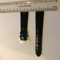 百達翡麗 (Patek Philippe) 20mm x 16mm  black crocodile strap
