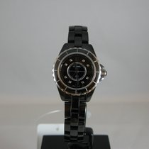 Chanel J2 Black Ladies watch