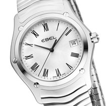 Ebel Classic Wave Herrenuhr silber/römisch 1215437