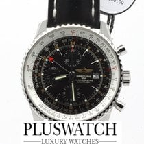 百年靈 (Breitling) NAVITIMER WORLD 46MM  NEW A2432212 / B726 /...