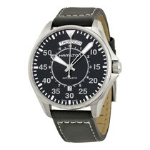 Hamilton Men's H64615735 Khaki Pilot Automatic Watch