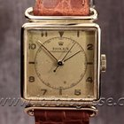 Rolex Tank Carre Chronometer Rare Ref. 4476 14kt. Solid Gold...