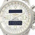 Breitling Chronospace Stainless Steel Quartz Mens Watch A78365...