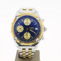 Breitling Chronomat Full Steel/Gold Gold Bezel (B&P1994)...