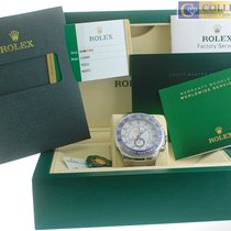 Rolex Yacht-Master II 44mm Stainless White Blue Ceramic 116680