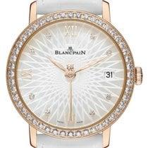 Blancpain Ladies Ultra Slim Automatic 34mm 6604-2944-55a