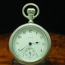 Elgin National Watch Co. Edelstahl Open Face Taschenuhr Von...