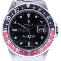 Rolex Gmt Master Ii 16710 Coke 40 Millimeters Black Dial