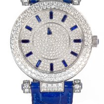 Franck Muller Double Mystery Ronde 36 Blue Sapphire