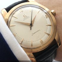 Omega Seamaster Automatik Automatic Bumper pink gold plated