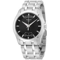 Tissot Men's T0354071105100 Couturier Day-date Calendar Watch