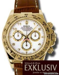 Rolex Daytona LC 100 NEU VERKLEBT Gelbgold  116518