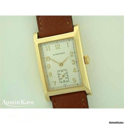 Longines Dolce Vita Elegance 18ct gold manual on strap