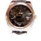 Rolex Sky-Dweller Watch, 42mm 18K pink gold case