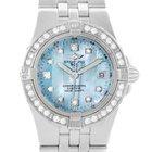 Breitling Starliner Ladies Blue Mother Of Pearl Diamond Watch...