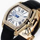 Cartier Roadster 18k Yellow Gold Silver Dial Diamond Watch 2524