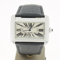 Cartier Tank Divan XL steel (B&P2008) 38mm