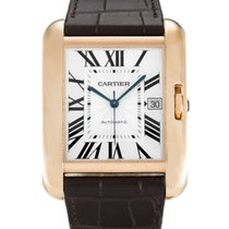 Cartier Tank Anglaise Large Model Rose Gold Watch