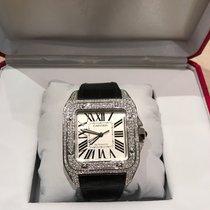 Cartier Santos 100 XL Diamond After set