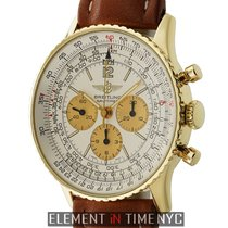 Breitling Navitimer Vintage Cronograph 18k Yellow Gold 41mm...