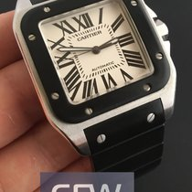 Cartier Santos 100 XL Black Rubber