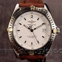 Breitling Antares Automatic Ref. B10048 Steel & Gold Watch...