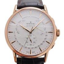 Edox Les Bémonts Perpetual Calendar Watch 01602 37R AIR