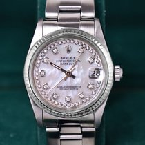 Rolex Oyster Perpetual 31mm Gold & Stahl, 10 Diamanten,...