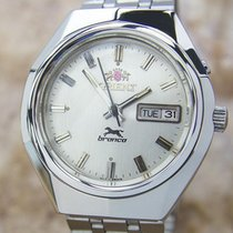 Orient Bronco Very Rare Mens Manual Wind Made In Japan Vintage...