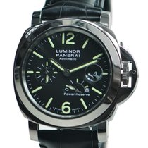 Panerai New  Luminor Stainless Steel Black Automatic PAM00090
