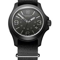 Victorinox Swiss Army Mens Original - Black Dial w/ Nylon NATO...