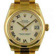 Rolex Datejust Medium Gelbgold Armband Präsident 31mm Ref. 178248