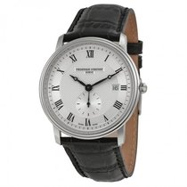 Frederique Constant Men's Classics Silver Dial Watch