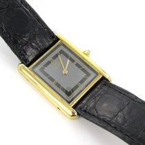 Cartier Tank Unisex 925 Silber Vergoldet Must De Box