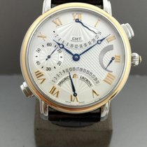 Maurice Lacroix Masterpiece Double Retrograde GMT Gold / Steel...