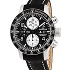 Fortis B-42 Stratoliner Chrono Black With Black Leather Strap...