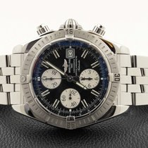 Breitling Chronomat Evolution Chronograph Pilot Steel 44 mm