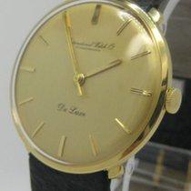 IWC Schaffhausen De Luxe Gold 18Carat
