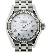 Tudor Monarch Silver-Tone Steel White Dial