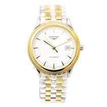 Longines Flagship Gold-plated Stainless Steel White Automatic...