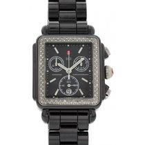 Michele Deco Chronograph Stainless Steel & Diamonds...