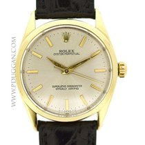 Rolex stainless steel and 14k yellow gold vintage 1959...