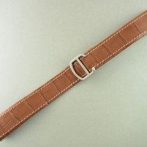 Καρτιέρ (Cartier) Krokoleder Armband Hellbraun Mit Faltschließ...