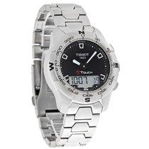 Tissot T-Touch II Mens Black Dial Digital Swiss Quartz Watch...